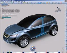 #HybridCar #CATIA #V5