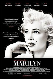 Mi semana con Marilyn [película] / [dirigida por Simon Curtis]. Intérpretes Michelle Williams, Kennet Branag, Eddie Redmayne, Emma Watson, Judi Dench. Resérvala en la biblioteca: http://roble.unizar.es/record=b1662649~S1*spi