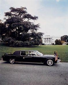 Evelyn Hofer, The President's Car, Washington, 1965