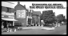 Stanford-Le-Hope, The Post Office c.1955