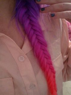 i would never dye my hair this color but I'm obsessed with this
