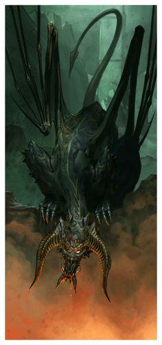 *black dragon