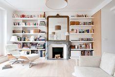 THE Architectes - appartement haussmannien