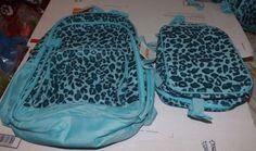$36.99  2 Piece Gymboree Glamorous Friends Teal Glitter Backpack Lunch Box Set | eBay