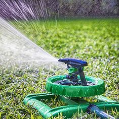 LONG RANGE IMPULSE SPRINKLER SYSTEM - Sturdy Sprinklers Water Entire Lawn And Garden Without Oscillating Systems Waste - A Sprayer For FAST, EASY Watering From Any Hose - 100% Satisfaction Guarantee! | shopswell