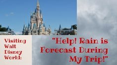 The rain, love it or hate it, it's going to happen, and odds are, you will likely see rain at least once, and maybe even every day of your Walt Disney World vacation. More than once, I have seen a panicked post on a message board, or forum from a poster who is headed to …
