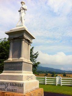 The Confederate Memorial in Union, WV  www.visitwv.com