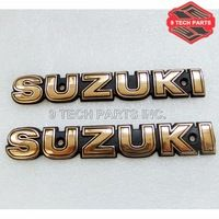 NEW FREE SHIPPING Fuel Tank Emblem LETTER fit for GN250 GN400, GS450 ts250 PAIR L/R