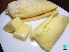 Receta de Tamales canarios con queso manchego