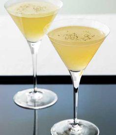 GREY GOOSE® Vodka | Black Truffles Martini | GREY GOOSE® Original 2 Parts Black Truffles 8 Pear Nectar 1 Part Pear Brandy ½ Parts Truffles Essence 1 Spray