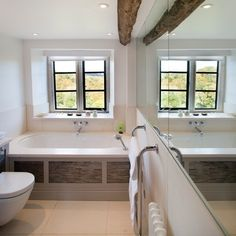 Bathroom by Charles Bateson Interior Design