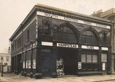 Defunct tube Station