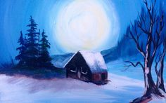 Bob Ross in Acrylic Ways You Can Still Paint Along