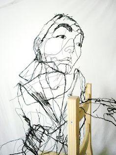 David Oliveira  Wire Sculpture