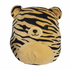 """Squishmallow 8"""" Tina the Tiger Plush Stuffed Animal Pillow Soft Toy Kellytoy #Kellytoy Plush Animals, Animal Pillows, Toys, Fictional Characters, Art, Activity Toys, Art Background, Felt Stuffed Animals, Clearance Toys"""