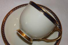 Vintage Lenox China Presidential Hamilton Tea Cup and Saucer, Wedding Teacup Bridal Table