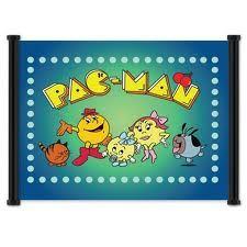 PAC-MAN CARTOON ~ 80's