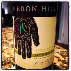 Nittany Epicurean: 2013 Heron Hill Single Vineyard Series Hobbit Hollow Farm on Skaneateles Lake Dry Riesling