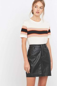 BDG Placement Striped T-shirt
