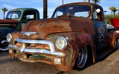 Rusty Chevy Pick up