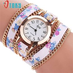 >> Click to Buy << OTOKY Flower Leather Bracelet Watches Fashion Women Dress Watches Quartz Watch Relojes Mujer Relogio Feminino Clock #30 Gift 1pc #Affiliate