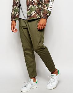 ASOS Skinny Joggers In Cropped Length