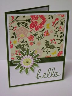 Stampin' Studio, Stampin' Up! Convention Swap, All Abloom DSP Stack