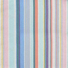 Heal's 1810 fabric in Flo's Stripe By Paul Vogel