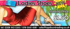 We are pleased to offer Ladies Shoes - Starting Price £1.50 #fashion #wholesaleclothing #ukfashion http://www.topdowntrading.co.uk