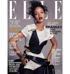 Robbie Myers: The Rihanna-Sphere - Elle