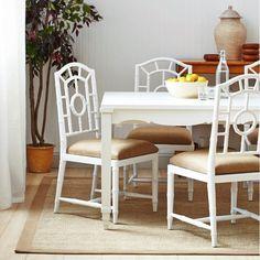 Bungalow 5 Veneto Dining Table - White   Furniture   Bungalow 5   Brands    Candelabra, Inc.