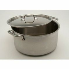 All-Clad MC2 - 16 qt. Stockpot w/Lid (75162) by All-Clad. $245.99. Highly versatile, Stock Pots are essential to the well-equipped kitchen. Lifetime warranty from All-Clad with normal use and proper care. Made in the USA! These pots allow you to saute or brown, then add liquids for stocks, soups and stews. All sizes easily accommodate many ears of corn, a big batch of chili or braised lamb shanks.