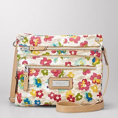 Relic Erica Floral Pocket Cross-Body Handbag