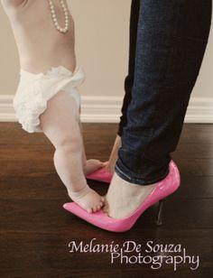 Melanie De Souza Photography 6 month photo ideas mommy and me photo ideas shoe photo ideas