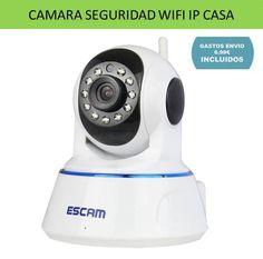 Electronica y tecnologia hogar: camaras de seguridad y videocamars de vigilancia para casa, camaras inalambricas IP para moviles, tablets y ordenador PC.