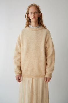 Ready-to-wear Dramatic mohair Light Camel 375x