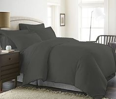 1200 Thread Count Luxurious 100% Egyptian Cotton Duvet Cover (Duvet Cover with Zipper Closure) Solid By BED ALTER (Grey, California King)  Package contains one Egyptian cotton 1200 thread count cal-king size Duvet cover (102X94 inches) only.  100% Egyptian Cotton, A Fabric Known for Its Luxurious Appeal And High Durability.  Be aware of fake products, BED ALTER is exclusively sold by Bedding World. Manufactured form 100% Egyptian cotton, a fabric known for its strength, durability and ...