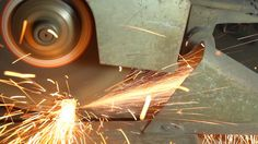 Closed Up Metal Saw Cutting A Steel Stockowy materiał wideo 3028120 - Shutterstock
