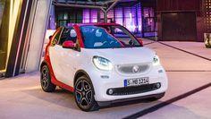 Carro Online - Notícias - Smart apresenta novo Fortwo conversível