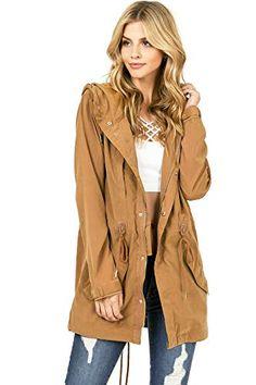 YUNY Womens Topcoat Winter Coat Outwear Leisure Cotton Wadded Jacket Beige White L