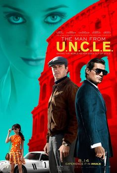 The Man from U.N.C.L.E.  Stars: Henry Cavill as Napoleon Solo, Hugh Grant as Alexander Waverly, Elizabeth Debicki as Victoria Vinciguerra, Alicia Vikander as Gaby Teller and Armie Hammer as Illya Kuryakin