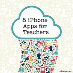Teach With Your iPhone: Apps to Use in the Classroom You don't need a class set of tablets to integrate tech into your teaching. Check out this list of free apps to change up your routine next year. Teacher Organization, Teacher Tools, Teacher Hacks, Teacher Resources, E Learning, Teaching Technology, Educational Technology, Technology Integration, Future Classroom
