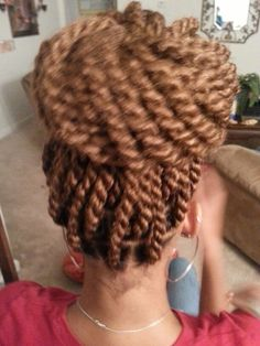 Havana twists protective style.............thinking of changing colors