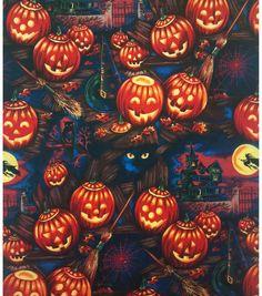 Holiday Inspirations Fabric-Bellknobs & Broomsticks & Holiday Fabric at Joann.com
