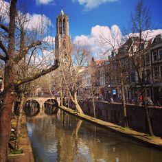 Dom & Oudegracht. Utrecht. The Netherlands