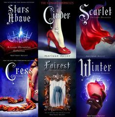 The Lunar Chronicles by Marissa Meyer