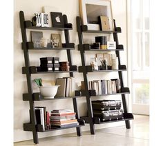 Get the Look: Leaning Ladder Shelves