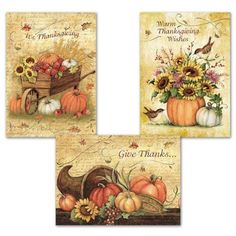 Harvest Thanks Cards $4.49