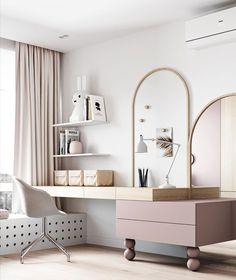 Room Design Bedroom, Girl Bedroom Designs, Kids Room Design, Home Room Design, Bedroom Decor, Room Interior, Interior Design, House Rooms, Girl Room