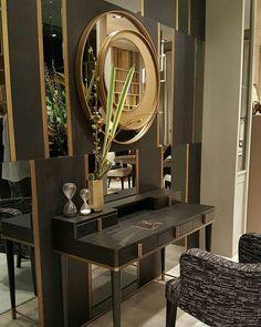 My Home Remodeling Dressing Table Modern, Dressing Table Design, Decor Interior Design, Furniture Design, Interior Decorating, Luxury Home Decor, Room Inspiration, Home Remodeling, Decoration